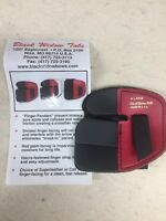 Wilson Black Widow Leather Split Finger Shooting Tab Right Hand X-large