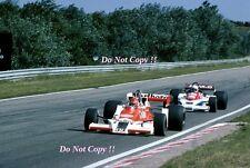 Bruno Giacomelli McLaren M26 Dutch Grand Prix 1978 Photograph