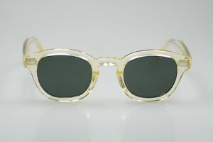 6c9a16b4af5 Image is loading Vintage-polarized-Johnny-Depp-sunglasses -artists-crystal-yellow-