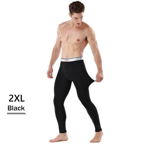 Thick Leggings Thermal Underwear Home Pajamas Bottom Pants Men/'s Long Johns