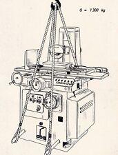 Flachschleifmaschine ABA FF450 Bedienungsanleitung