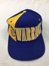 Vintage Starter Tri Power Golden State Warriors wool snapback Hat NBA Basketball