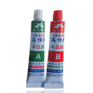 super strong epoxy clear glue adhesive a b for metal wood plastic diy craft ebay. Black Bedroom Furniture Sets. Home Design Ideas