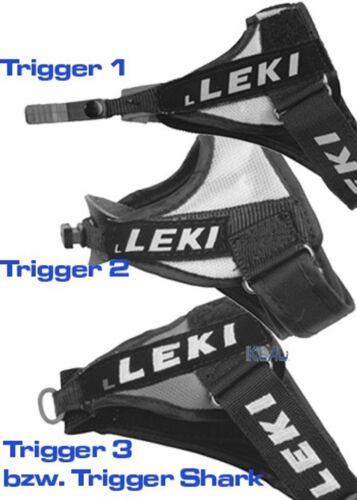 Skating Leki Trigger1 Replacement Straps for Nordic Walking Cross-Country