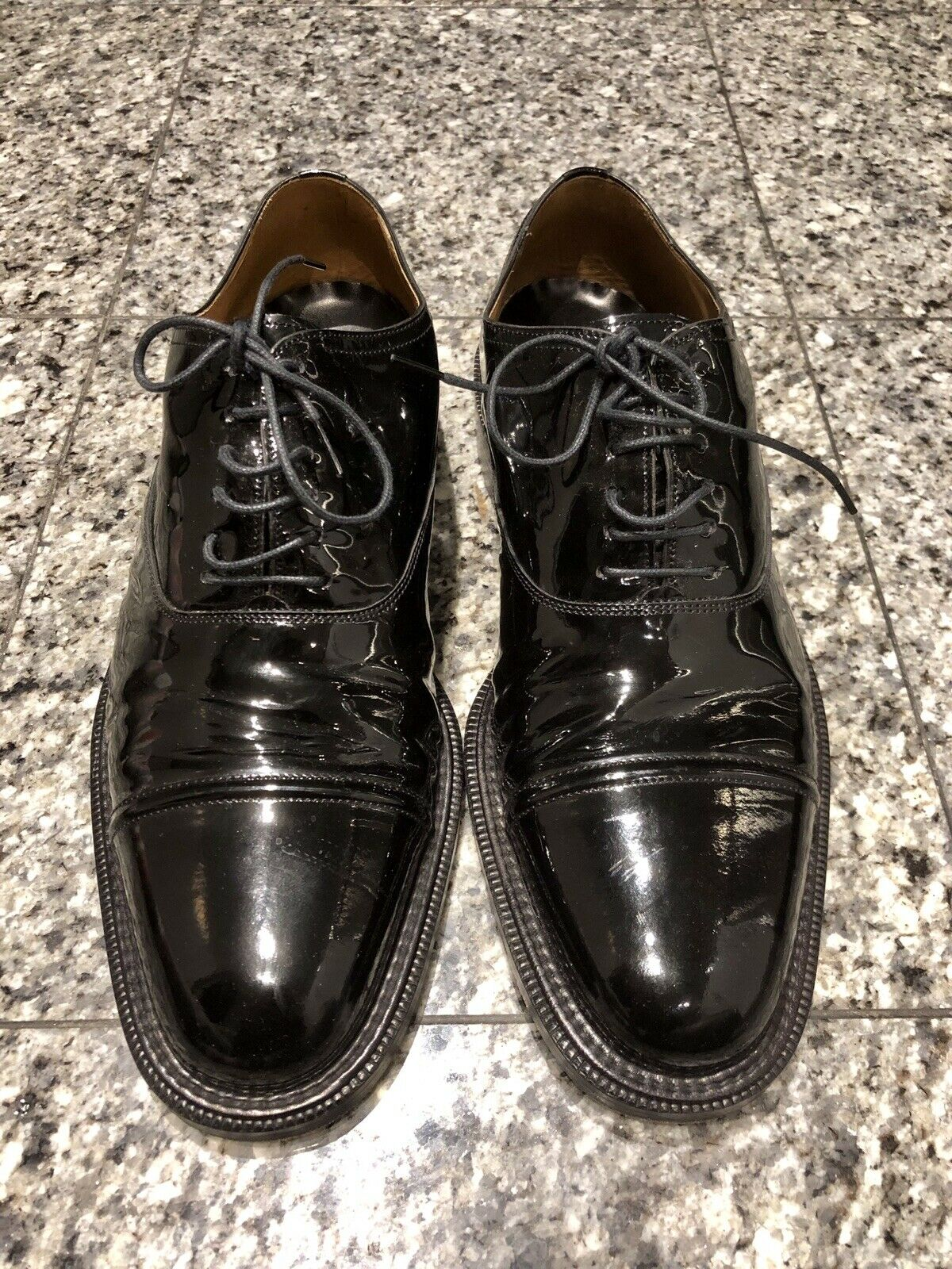 To Boot New York Patent Leather Men's Oxford shoes