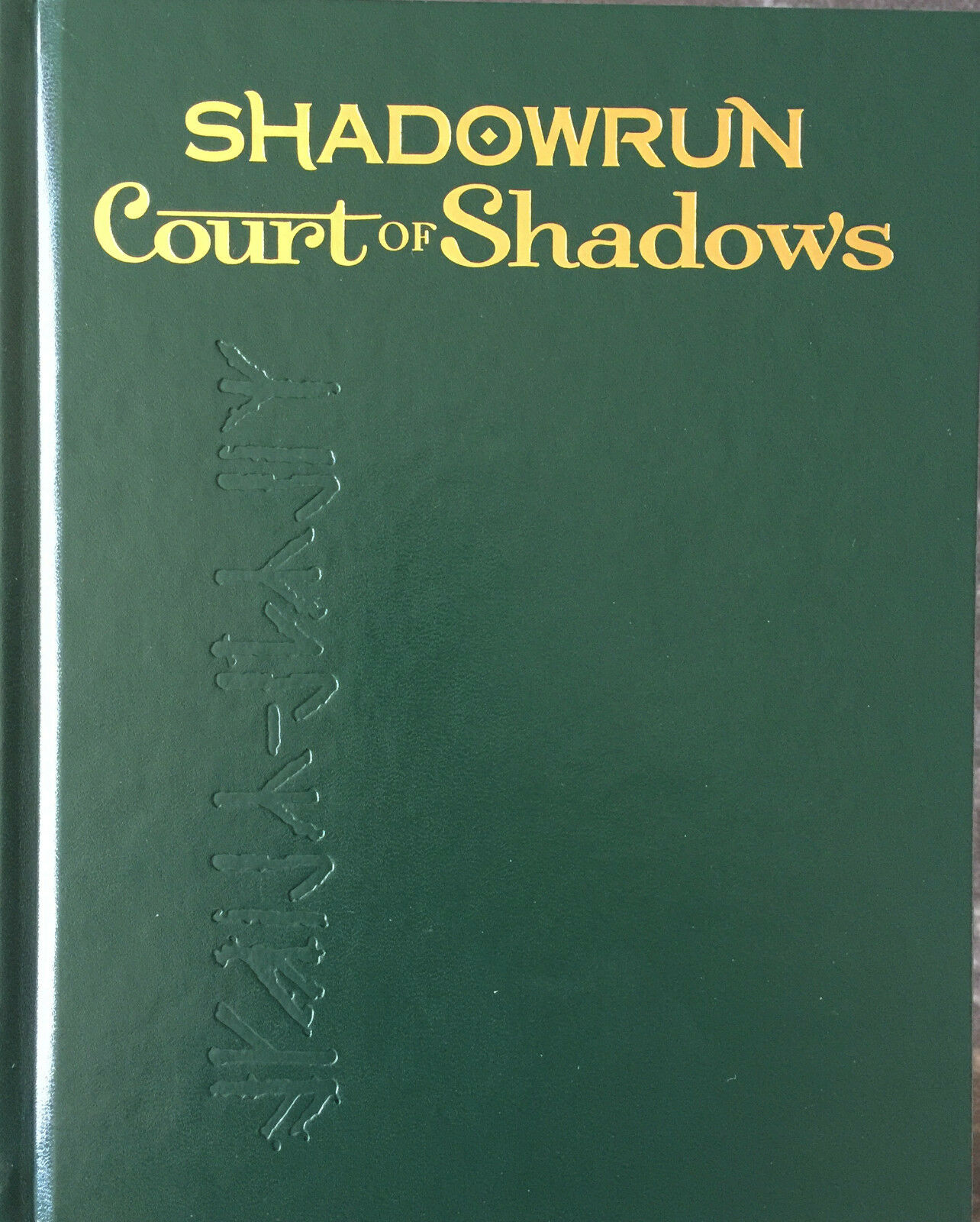 Edición Limitada Shadowrun 5th Ed tribunal de las sombras HC Catalyst Ltd-Nuevo
