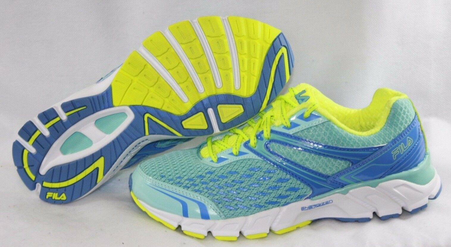 NEW Womens FILA Vellospeed Energized CoolMax Memory Foam Blue Sneakers Shoes Cheap women's shoes women's shoes