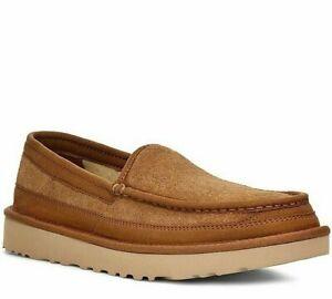 UGG Mens Dex Suede Slip-on Loafers