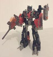 Transformers Dark of the Moon DOTM Voyager Fireburst Optimus Prime used