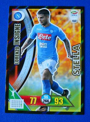 LORENZO INSIGNE n°460 STELLA NAPOLI Card Adrenalyn  calciatori Panini 2017-18
