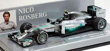 2014 Petronas F1 Nico Rosberg Diecast Model Car in 1:43 Scale by Minichamps