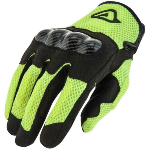 GUANTI ACERBIS RAMSEY MY VENTED GLOVES VARIE TAGLIE PER MOTO E SCOOTER GIALLO