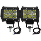 Polaris Ranger 18W CREE 6 LED Work Light Bar Spot offroad Lamp ATV RZR Sportsman