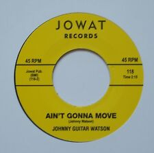 ♫ Northern Soul – JOHNNY GUITAR WATSON – AIN`T GONNA MOVE - Hear ♫