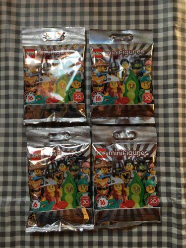 Lego minifigures series 20 unopened sealed random mystery blind bags packs