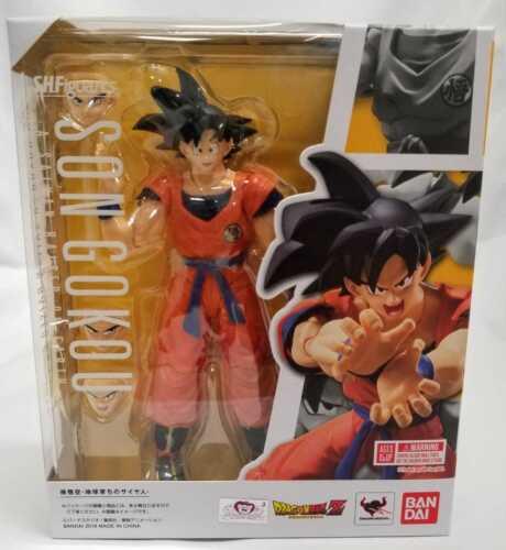 New Bandai S.H Figuarts Dragonball Z Son Goku A Saiyan Raised On Earth USA