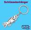 Schluesselanhaenger-Taschenanhaenger-Fisch-Gold-Silber-Bronze Indexbild 3