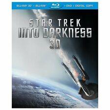 Star Trek Into the Darkness 3D Blu-ray DVD FREE SHIPPING Mint + Lenticular Slip
