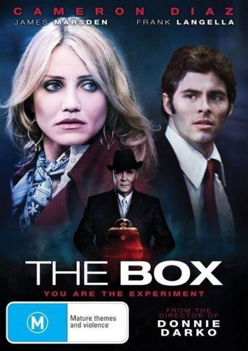 1 of 1 - The Box (DVD, 2010) Cameron Diaz, James Marsden & Frank Langella -- Free Postage