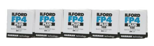 Ilford FP4 Plus 35mm 24 Exposure Pack of 5