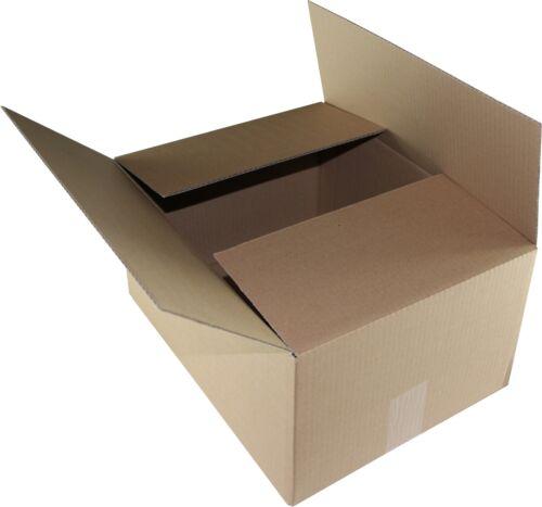 200 St. cajas 400x300x200 mm, cajas de cartón GLS talla M, cartón Hermes M