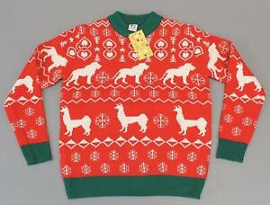 Dan And Phil Christmas Sweater.Dan And Phil Unisex L S Lion Llama Ugly Christmas Sweater