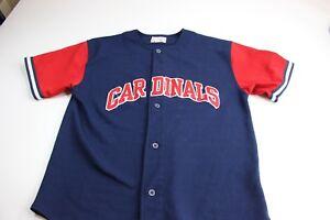 Starter-Embroidered-Cardinals-Baseball-Jersey-Shirt-Medium-M-Retro