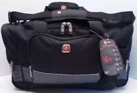 Swissgear By Wenger Duffle Bag Black/gray/multi Travel Gym Sa9000