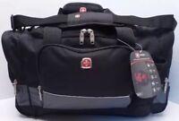 Swissgear By Wenger Duffle Bag Black/gray/multi Travel Gym Sa9000
