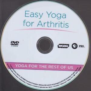 easy yoga for arthritis yoga for the rest of us dvd video