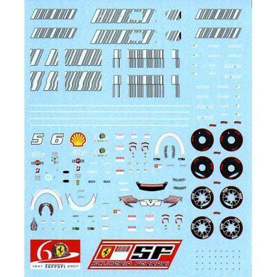 F/'artefice 1:43 Decals for Ferrari F1 F2007 Full Sponsor Sets
