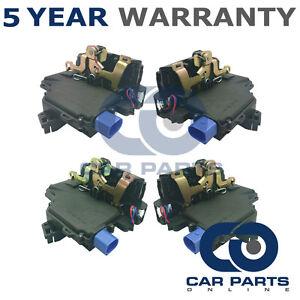 4x-Front-Rear-Door-Lock-Actuator-For-Seat-Skoda-VW-Solenoid-Locking-Relay