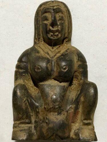 PER CHARM PHRA LP RARE OLD THAI BUDDHA AMULET PENDANT MAGIC ANCIENT IDOL#11