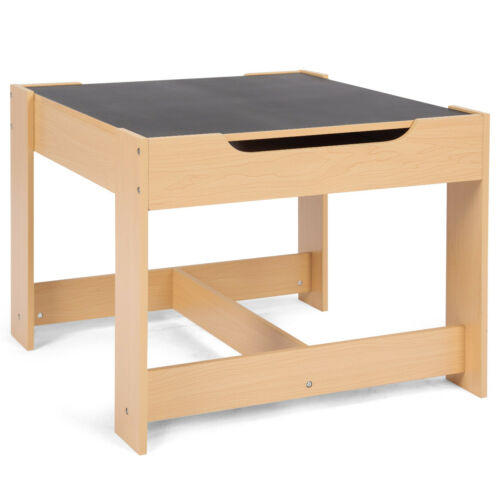 3 tlg Kindersitzgruppe Kindermöbel Kinderstuhl /& Tisch Holz Maltisch
