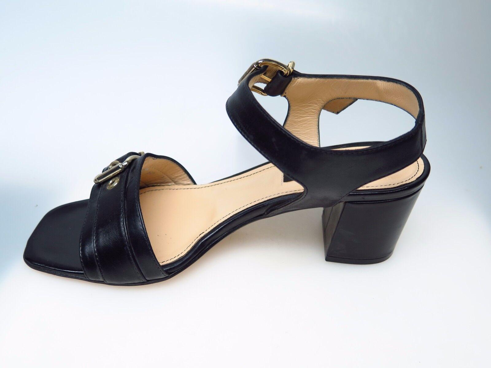 ALBERTO ZAGO Designer Damenschuhe Schuhe 319 EU Vitello Nero Sara Gr. EU 319 38 NEU 9674e5