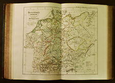 1854c,SPRUNER ATLAS:GERMANIA-DEUTSCHLAND.TAV.XIII. In XVI te JAHUNDERT'S.ETNA