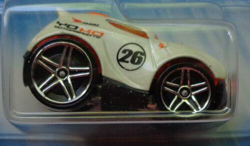5 SPKs Pearl White Blk Base 2005 HOT WHEELS First Editions ROCKET BOX #036