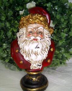 Clayre Fed Père Noël Décoration de Noël Bijoux Shabby Vintage Maison De Campagne 15 cm  </span>