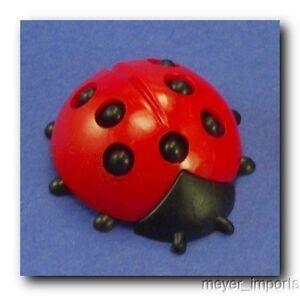 BIG-Ladybugs-3-4-034-Minis-Vintage-German-6-Pieces
