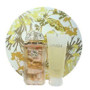 Lalique by Lalique 2pc Set 3.4 oz Eau de Parfum Spray + Shower Gel for Women NIB