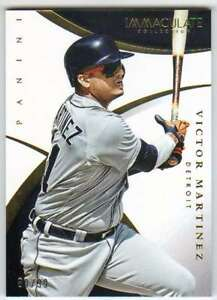 2015-Panini-Immaculate-Collection-Baseball-99-58-Victor-Martinez-Tigers