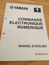 Yamaha moteur hors bord commande electronique revue technique manuel atelier