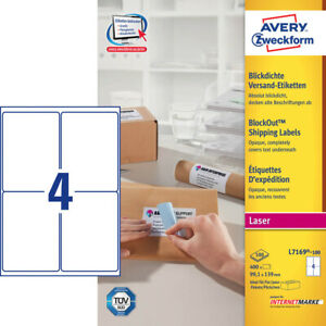 400-Avery-Zweckform-Envio-L7169-100-Blanco