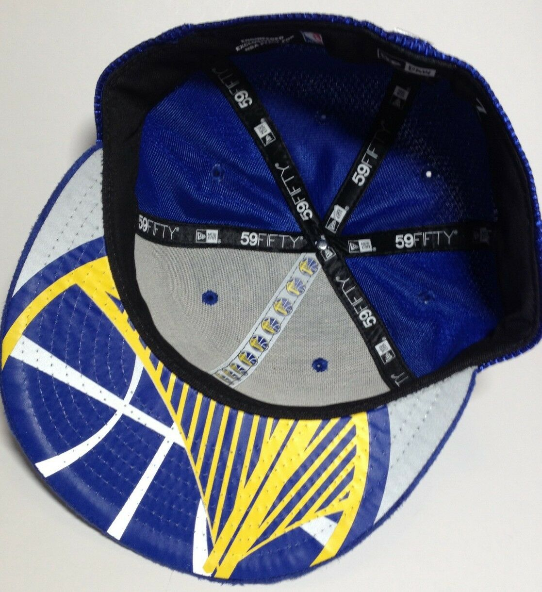 Golden State 59Fifty Warriors NBA New Era 59Fifty State fitted/hat/cap bd6db0