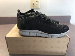 new product 52bf2 36251 Image is loading Nike-Free-Inneva-Woven-NRG-Balck-Size-10-
