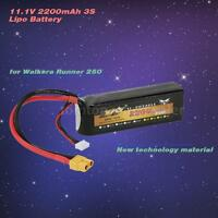 11.1v 2200mah 3s Lipo Battery For Walkera Runner 250 Rc Quadcopter E7v9 on sale