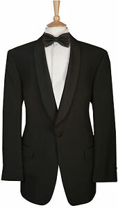 mens shawl collar dinner suit jacket formal black tie prom
