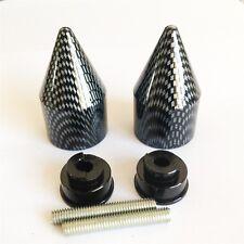 For Honda CBR600 RR F1 F2 F3 F4 F4i VFR800 CB919 CBR1100 Carbon Hand Bar Ends