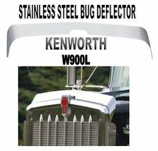 KENWORTH W900L STAINLESS BUG DEFLECTOR