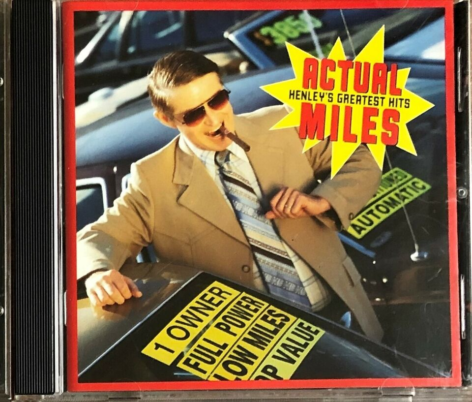 Don Henley: Actual Miles – Henley's Greatest Hits, rock